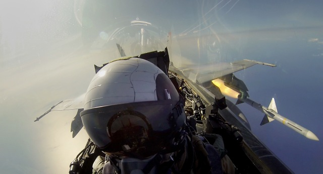 AIM-7 Missile Shoot