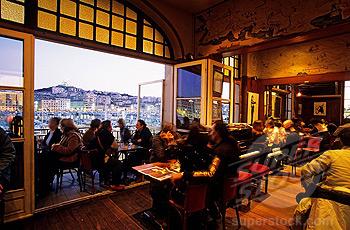 France, Bouches du Rhone, Marseille, La Caravelle bar, compulsory mention