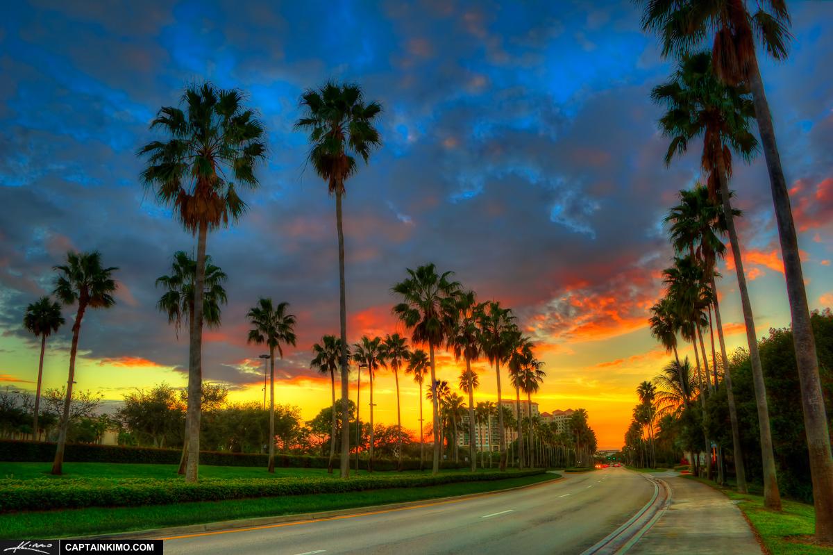 Sunset November  Palm Beach Gardens