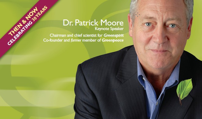 """patrick moore cofounder of greenpeace essay Dr patrick moore, a trained ecologist, was a co-founder of  why i left greenpeace by patrick moore  3 responses to """" green peace founder says global warming ."""