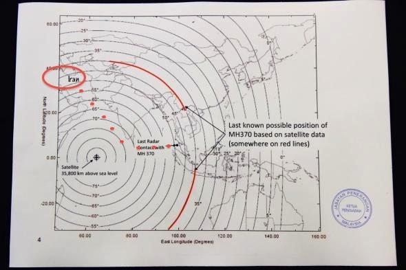 MH370 Inmarsat3