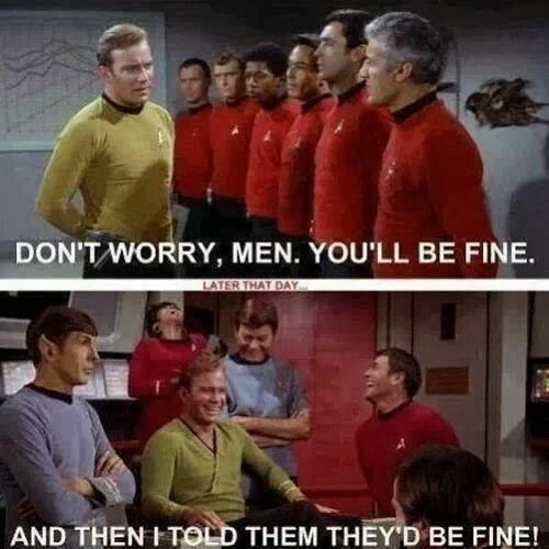StarTrek red shirts