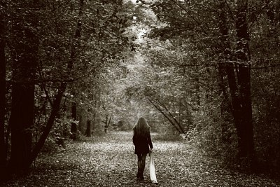 8305733-solitude-concept-lonely-sad-woman-in-the-woods