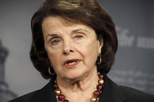 U.S. Senate Intelligence Committee Chairman Senator Feinstein speaks about START Treaty on Capitol Hill in Washington