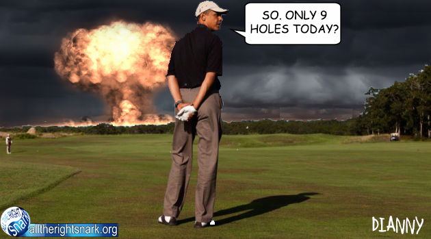 Golfing-While-the-World-Burns