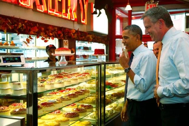 Barack Obama, Bill di Blasio