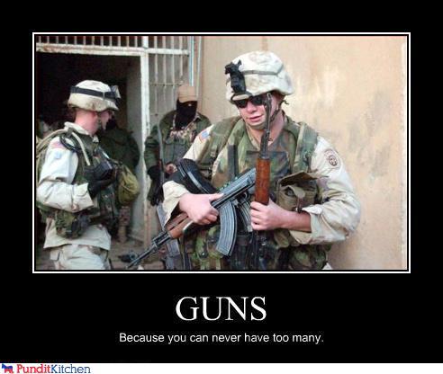 gunstoomany
