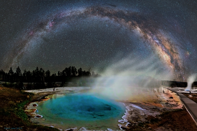 Milky Way over Yellowstone  Image Credit & Copyright: Dave Lane. Taken from http://apod.nasa.gov/apod/ap140827.html