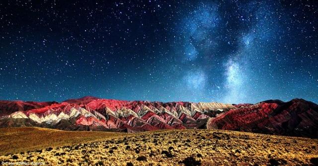 Argentinian mountain range